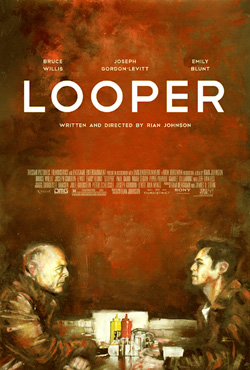 Looper (poster by Zachary Johnson)