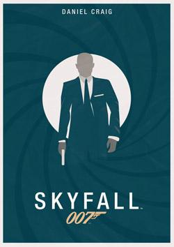 Skyfall (poster by Jack Woodhams)