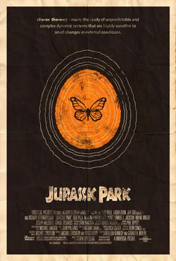 Jurassic Park (poster by Adam Rabalais)