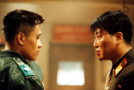 Lee Byung Hun and Song Kang Ho