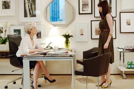 Meryl Streep and Anne Hathaway