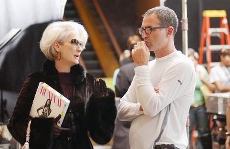 Meryl Streep and David Frankel