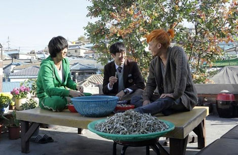 Kim Soo Hyun, Lee Hyun Woo and Park Ki Woong